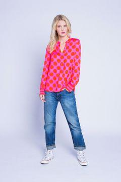 Pink Red Dot 490 Emily Van Den Berg