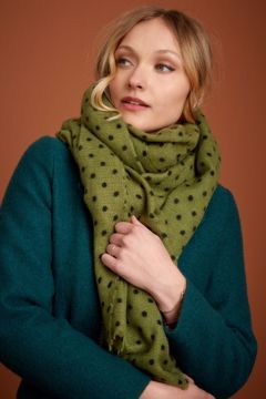 Pablo scarf Posey green King louie