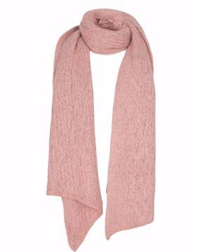 Nubobbly scarf Chalk pink Nümph