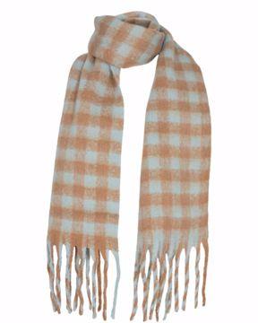 NuKitten check scarf Nümph